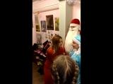 Йога для Деда Мороза у нас в АРТ-студии!
