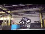 Робот Boston Dynamics делает сальто