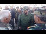 Бригадный генерал Сухаил Аль-Хассан со своими героями