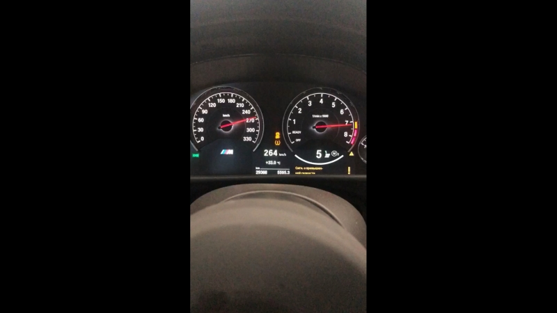 Разгон BMW M4 на дино стенде DynoMAX
