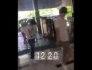 [FANCAM] [18.07.18] B.A.P у здания отеля в Джокьякарте (Индонезия)