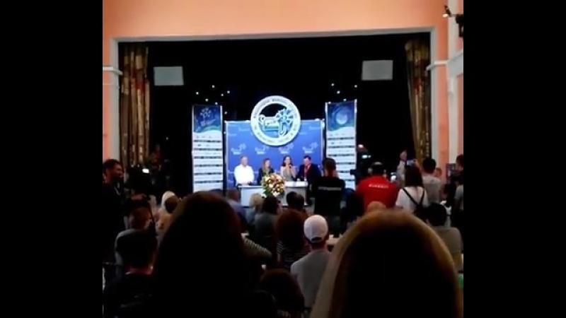 Сегодня на пресс-конференции международного фестиваля искусств «Славянский базар».🎤🎉