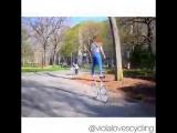 Акробатика на велосипеде