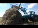 Сенокос 2018 МТЗ 80 /👍\ Заготовка и сбор сена трактором МТЗ-80