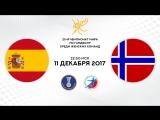 Гандбол. Испания - Норвегия. 1/8 финала. Чемпионат мира 2017. Женщины