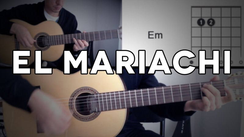 El Mariachi Tutorial Cover - Guitarra [Mauro Martinez]