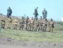 Солдаты ВОВ, реконструкция боя