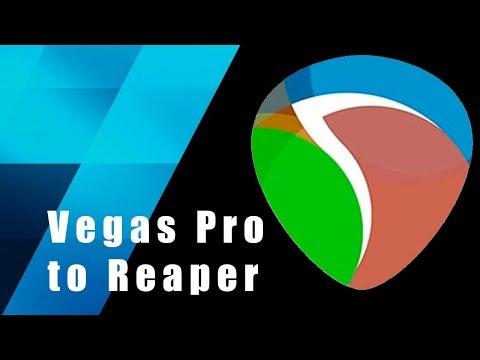 Export project Vegas Pro to Reaper EDL Sony Vegas Pro