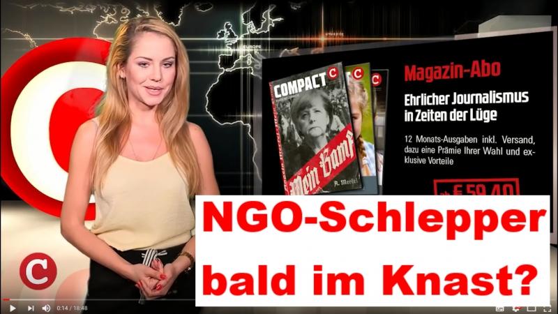 NGO-Schlepper bald im Knast?