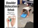 Shoulder Dislocation Exercises‼️