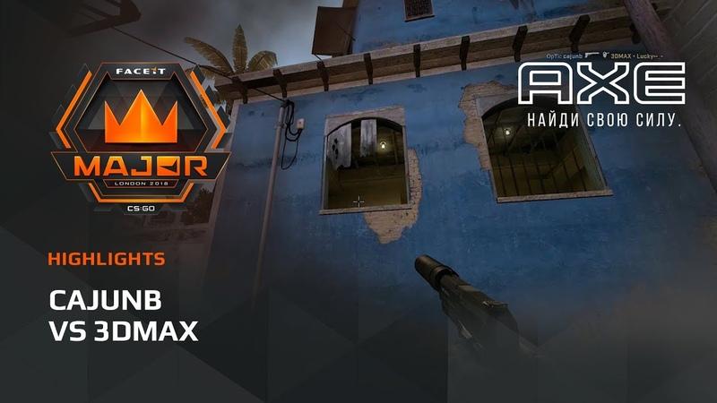 Cajunb vs 3DMAX Europe Minor FACEIT Major 2018
