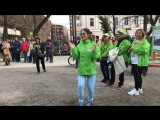 Юлия Барановская на фестивале «Московская весна A Cappella»