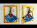DIY- Wall Decor Idea Unique Craft Low Budget Craft Handmade By Punekar Sneha