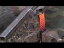 Дамаск крученый - ковка клинка