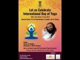 Послание Шри Шри Рави Шанкара на 4-й Международный День йоги 2018 г.