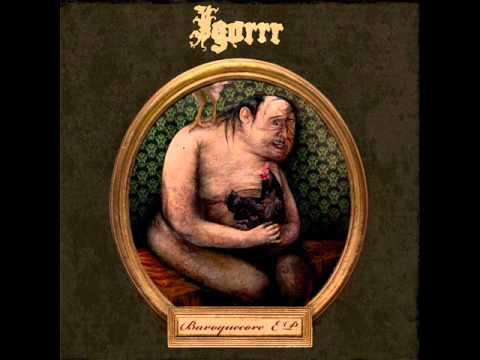 Igorrr - Unpleasant sonata - Baroquecore EP - NEW 2010