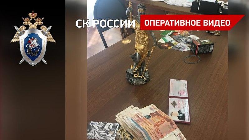 Задержание начальника ОЭБиПК в Бийске