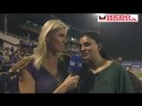 FUN FEED SNIPPETS - MATCH30 - IPL 2010 - KKR vs DC - Chat with Sushmita Sen
