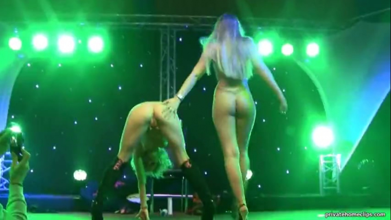 Mia Magma Lena Nitro Double Dildo Show