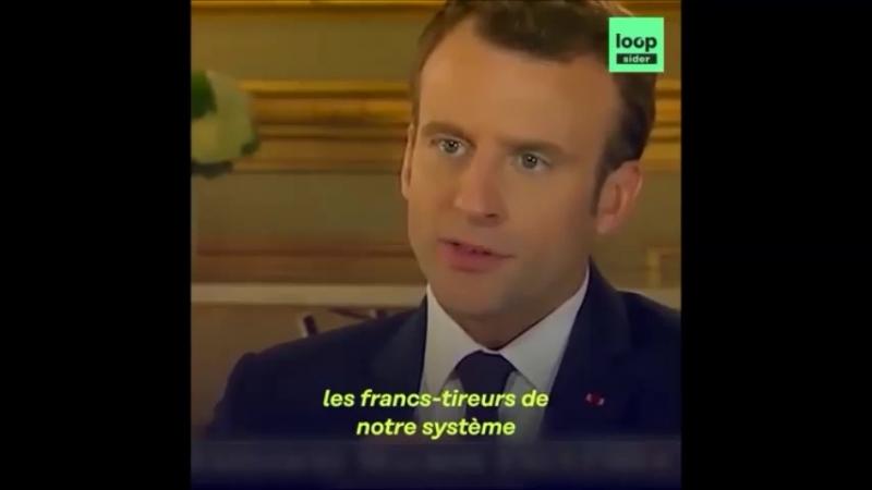 Lors d'une interview sur Fox News, Macron déclare que Poutine est un propagateur de Fake news