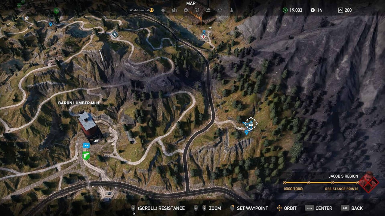 Лесопилка Барона в Far Cry 5