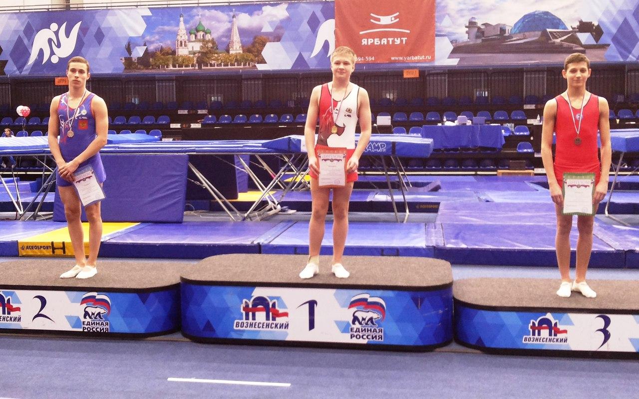 6 медалей в «копилке» сборной ростовской области по итогам всероссийских соревнований по прыжкам на батуте