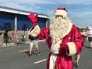 Дед Мороз встречает болельщиков в Казани