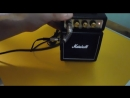9 Видео Толика обзор комбика MARSHALL MS-2 MICRO AMP BLACK (26.07.18.)