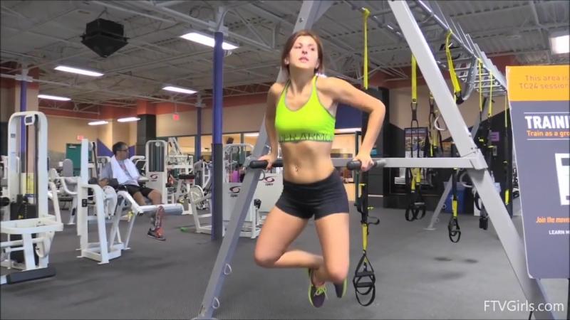 Leah Gotti Hot Workout