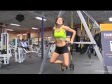 Leah Gotti Hot Workout