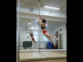 Даша Вербицкая pole dance