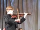 Марк,твое первое выступление с оркестром..