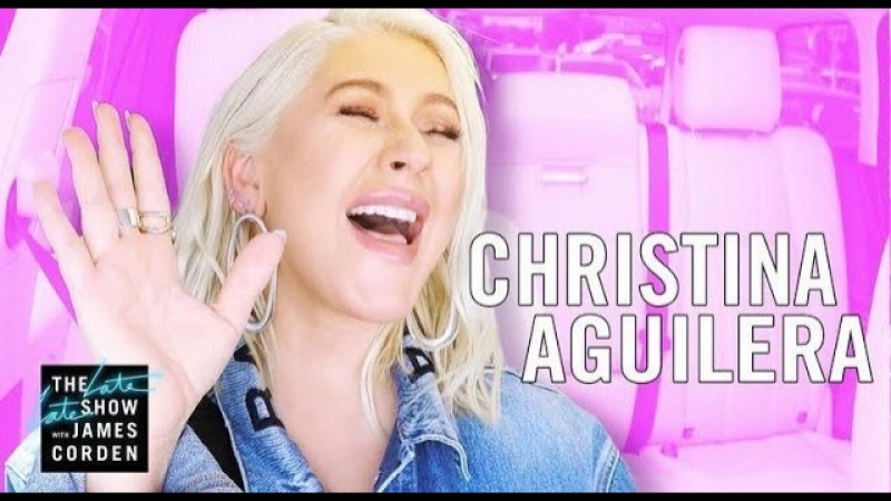 Christina Aguilera Carpool Karaoke