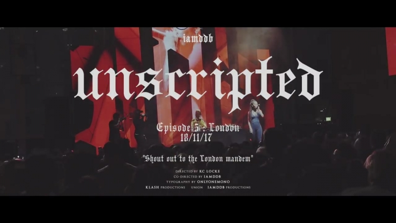IAMDDB Unscripted Episode 5 LDN Redbull Syd The Kid