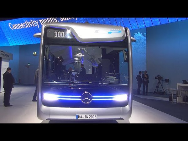 Mercedes-Benz CityPilot Future Bus Exterior and Interior