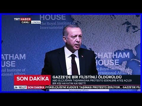 Cumhurbaşkanı Erdoğanın Londra Chatham House Konuşması 14 Mayıs 2018