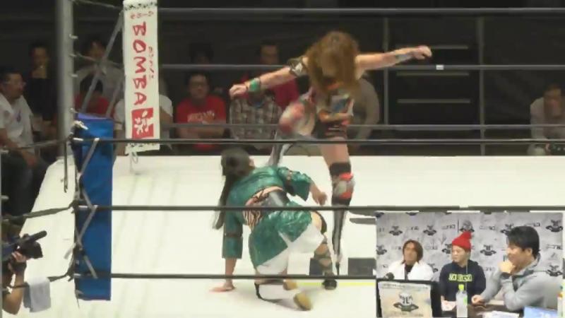 Hiroyo Matsumoto vs. Satsuki Totoro (SEAdLINNNG - d-Higher)