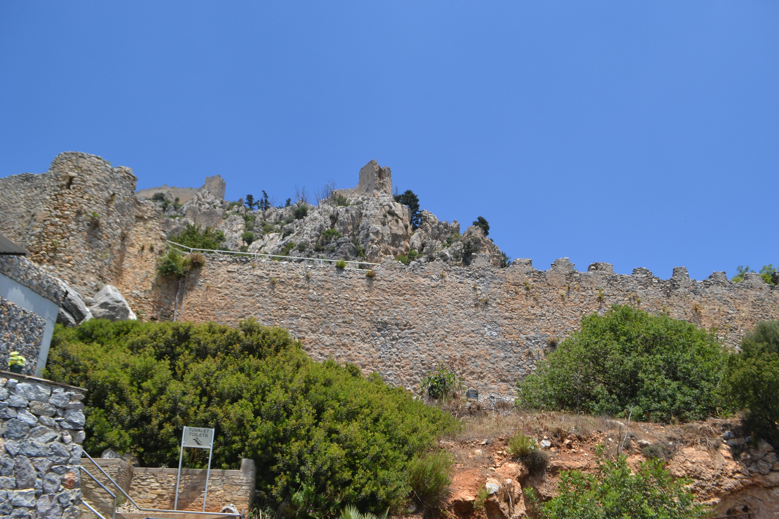 Северный Кипр. Замок Святого Иллариона. (фото). Yhgfxb-a7FQ