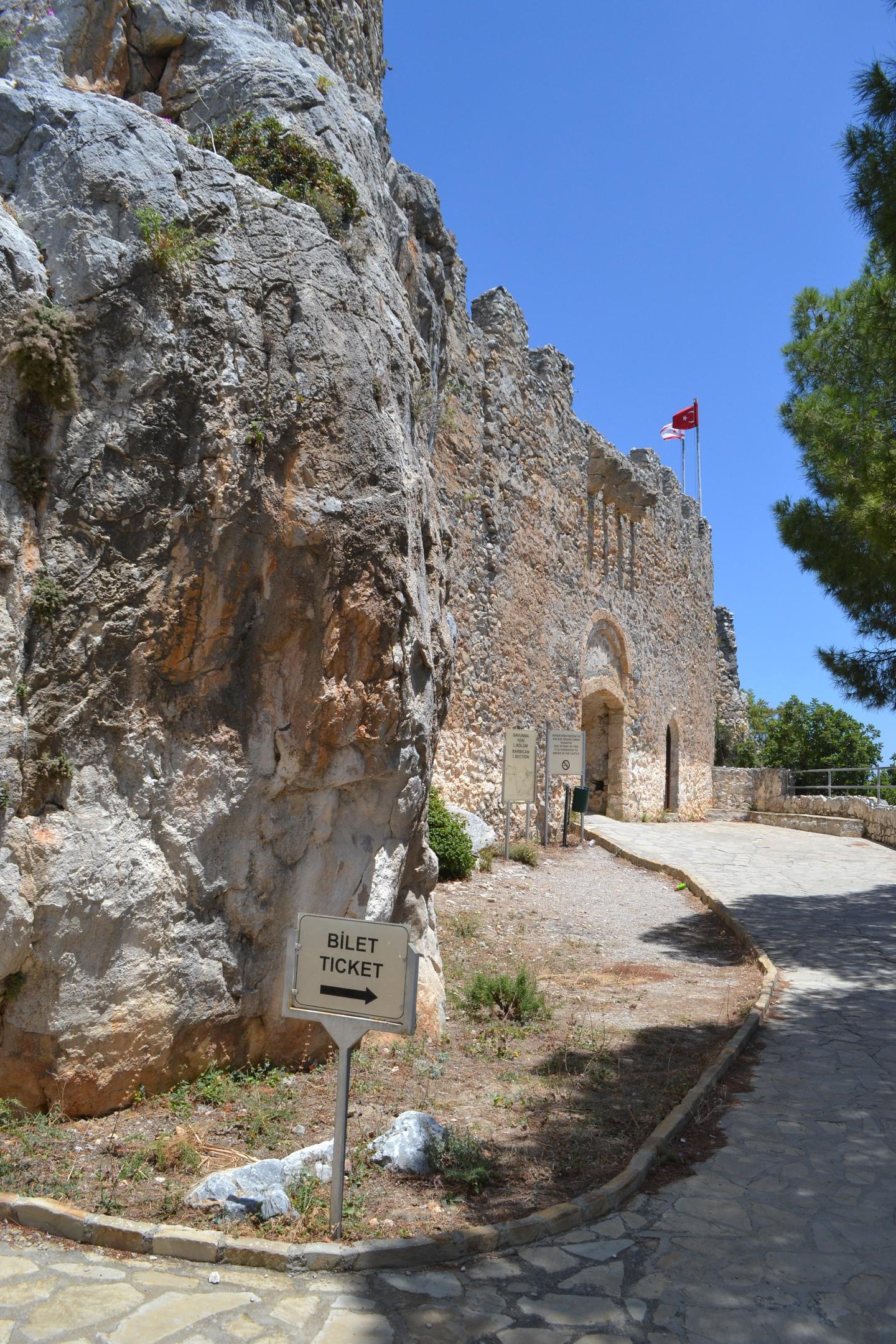 Северный Кипр. Замок Святого Иллариона. (фото). X2rTwIgZ9Ns