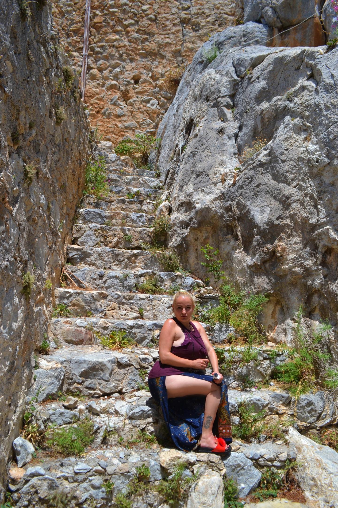 Северный Кипр. Замок Святого Иллариона. (фото). Zvrc40EcpDo