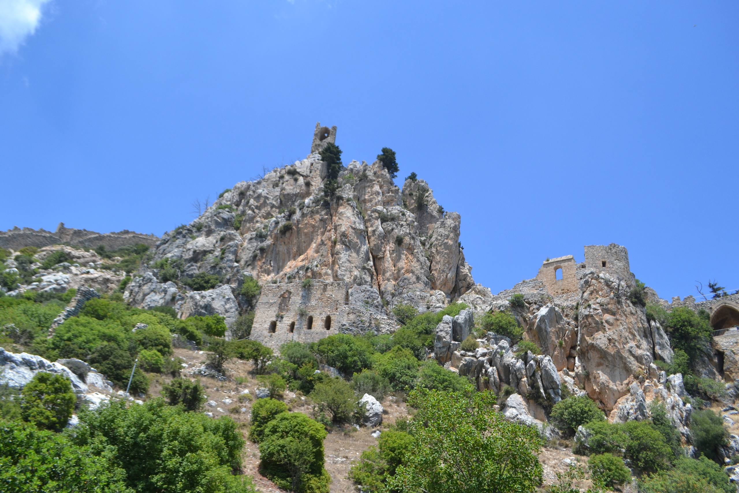 Северный Кипр. Замок Святого Иллариона. (фото). X8L3AB5D4Sw