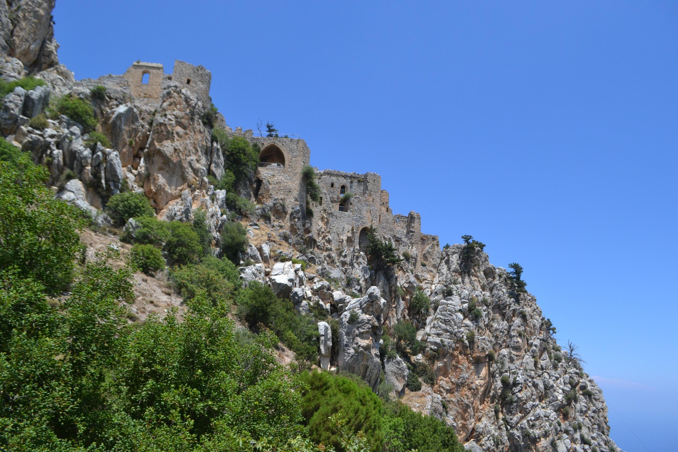 Северный Кипр. Замок Святого Иллариона. (фото). XUP3dWO0Ooo