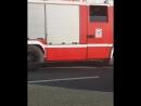 Около посёлка Кирпичный завод по пути в Елизаветку жёсткая авария перевёрнутые машины много пожарных машин и карет скорой по
