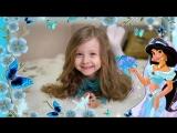 Слайд шоу на заказ на день рождения маленькой принцессе