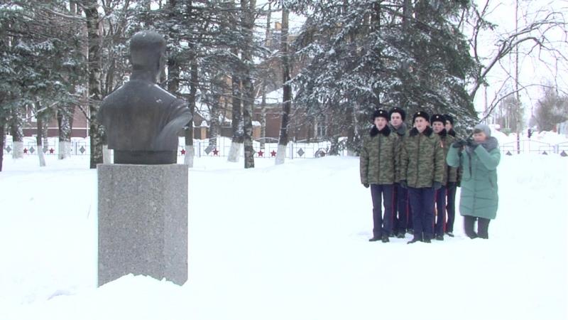 На воинском кладбище (репетиция)
