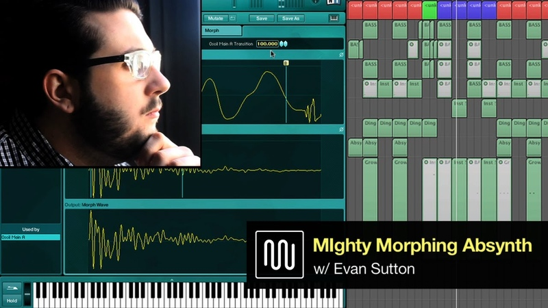 Using Absynth to Morph Sound Waves Sound Design Tutorial w Native Instruments Komplete