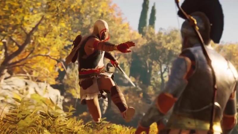 Assassin's Creed Одиссея - Прыжок