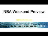 NBA Playoffs Weekend Preview Rockets-Warriors, Cavs-Celtics