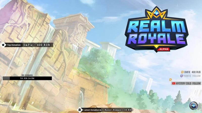 Realm Royale - HunterMage main / Diamond I