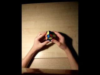 Обучение сборке кубика рубика 2 на 2 на 2.